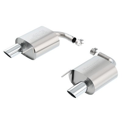"BORLA® Axle-Back Exhaust S-Type - 2.25"" - Polished Tip #11938 - Convertible"