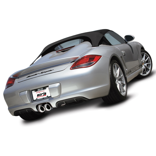 BORLA® Cat-Back™ Exhaust 'S' Type Porsche 987.2 PDK - Polished Tip #12659