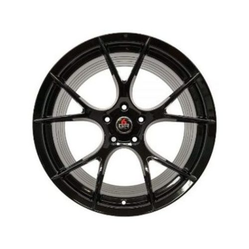 Project 6GR Wheels 10 Spoke Gloss Black 20 x 10 Front & Rear