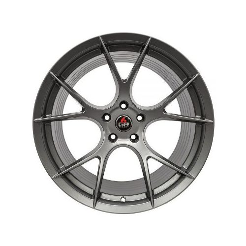 Project 6GR Wheels 10 Spoke Satin Graphite 20 x 10 Front & Rear