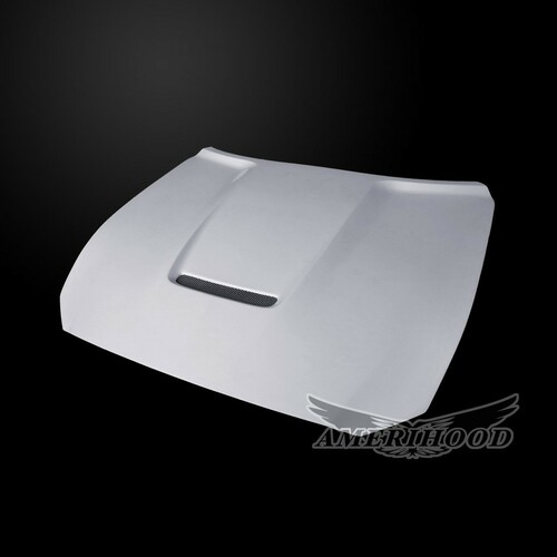 Amerihood - Type-GT3 Style Functional Heat Extraction Hood - Mustang 2015-17